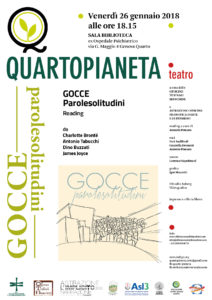 Gocce, Parolesolitudini