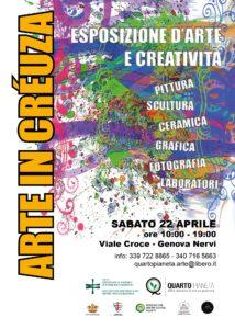APRILE 2017 - Arte in Créuza