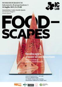 LUGLIO 2015 - 'Foodscapes'