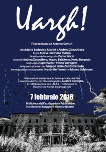 FEBBRAIO 2016 - Film dedicato ad Antonio SLAVICH