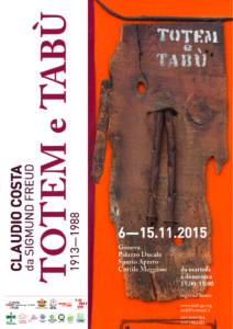 NOVEMBRE 2015 - Totem e Tabù - 1913-1988