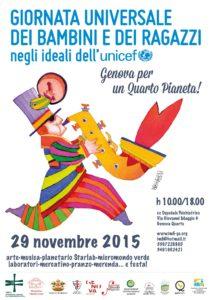 NOVEMBRE 2015 - Giornata universale dei bambini e dei ragazzi