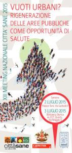 LUGLIO 2015 - XIII Meeting Nazionale Città Sane