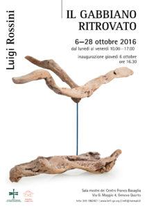 OTTOBRE 2016 - Mostra 'Il Gabbiano ritrovato'