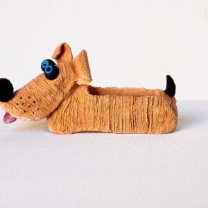 statuina cane bassotto